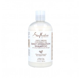 Shea Moisture Virgin Coconut Oil Hydration Shampooing 384 ml