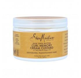 Shea Moisture Raw Shea Butter Boucle Memory Cream Custard 340G