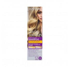 Kativa Color Therapy Blue-Violet Shampoo 250 ml (Anti-Jaune)