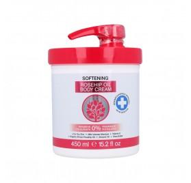 Skin Oil From Africa Crema Corporal Suavizante Con Rosa Mosqueta 450 ml