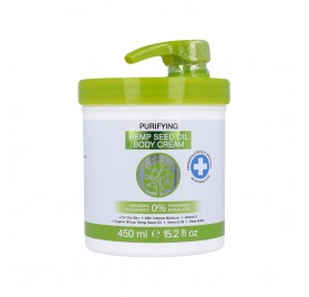 Skin Oil From Africa Crema Corporal Purificadora Aceite De Cáñamo 450 ml