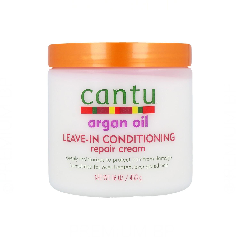 Cantu Shea Butter Argan Oil Leave-in Acondicionador 453 Gr