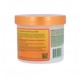 Cantu Shea Butter Natural Hair Hidratante Twist & Lock Gel 370 Gr