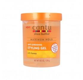 Cantu Shea Butter Styling Gel Con Miel 18,5Oz/524G (Anti-Shedding)