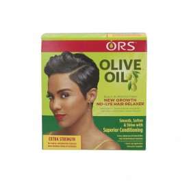 Ors Olive Oil New Growth No-Lye Relaxer Kit Ex-Strength