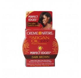 Creme of Nature Argan Oil Perfect Edges Dark Brown 63.7G