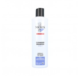 Wella Nioxin Clean Shampooing Système 5 Cheveux Traités Doux 300 ml