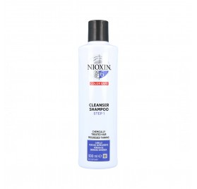 Wella Nioxin Clean Champú Sistema 6 Cabello Tratado Avanzado 300 ml