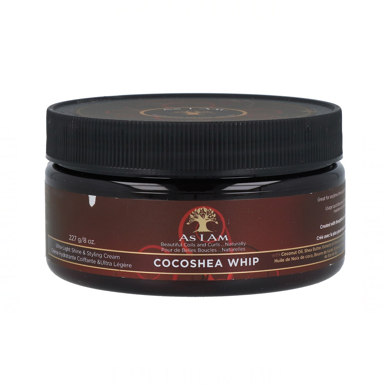 As I Am Cocoshea Whip Cream 227G/8Oz