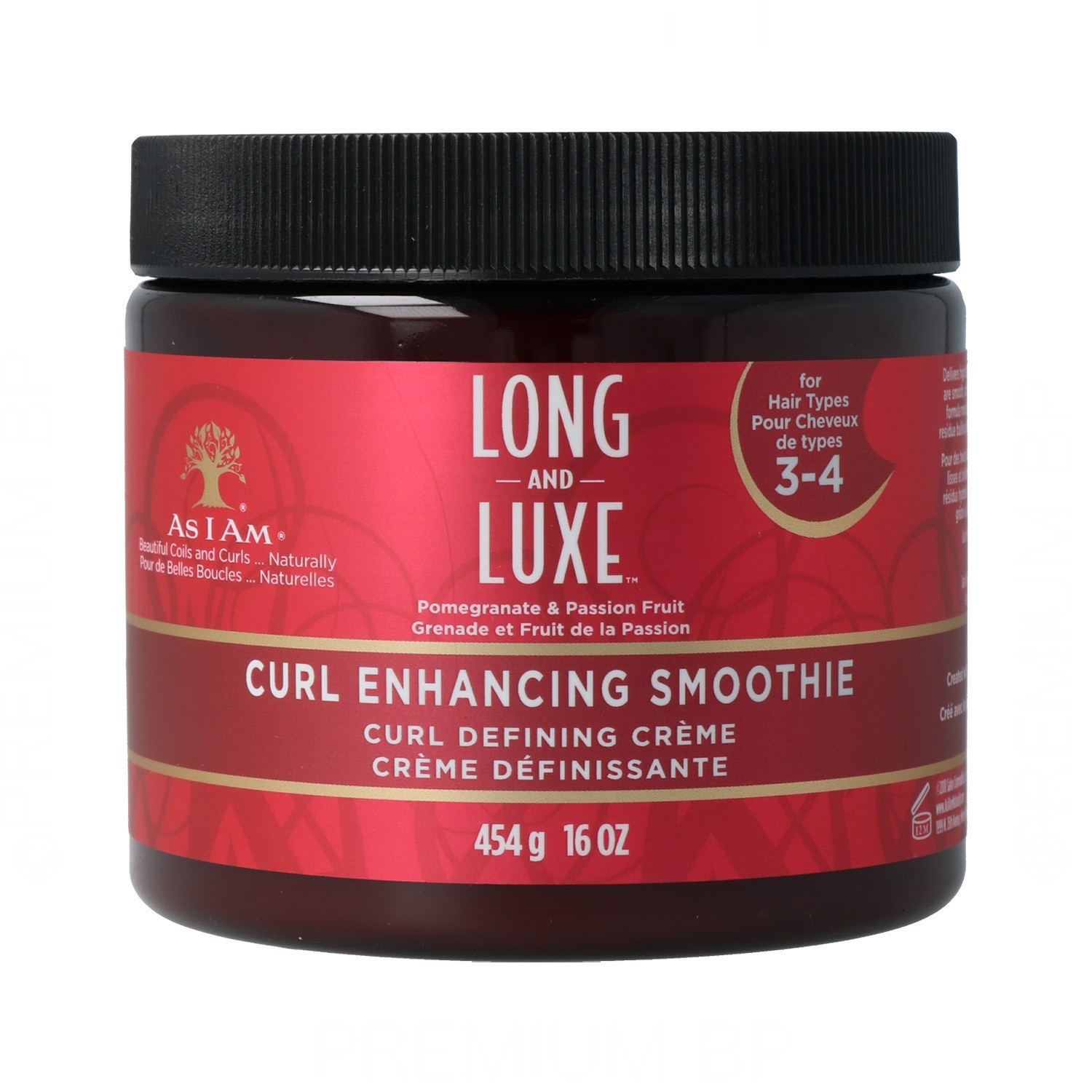 As I Am Long And Luxe Curl Enhancing Smoothie 454G/16Oz