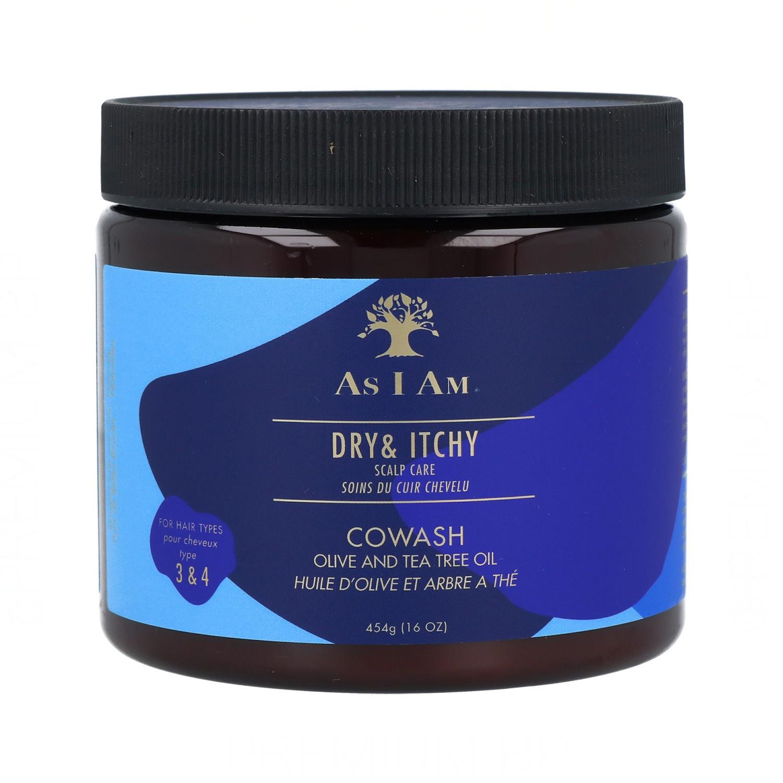 As I Am Dry & Itchy Tea Tree Oil Cowash 454G/16Oz