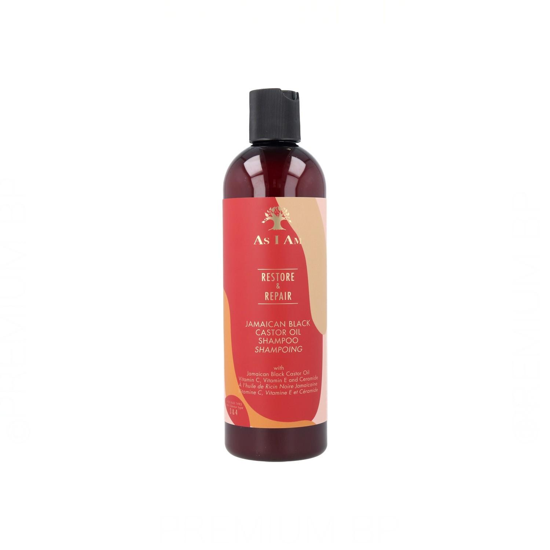 As I Am Restore & Repair Jamaican Black Castor Oil Shampoo 355 ml./12Oz