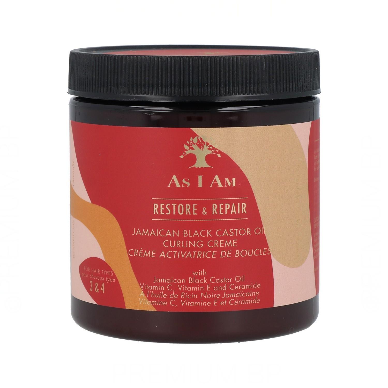 As I Am Jamaican Black Castor Oil Curling Cream 227G/8Oz