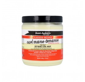 Aunt Jackie'S Curls & Coils Flaxseed Curl Mane-Tenance Whip Definidor de Rizos 426G/15Oz