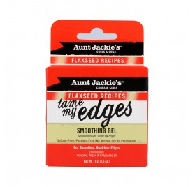 Aunt Jackie'S Curls & Coils Flaxseed Tame My Edges Smoothing Gel 71G/2.5Oz