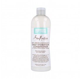 Shea Moisture Virgin Coconut Moisturizing Conditioner 19,5Oz/577 ml (Bonif-50%)