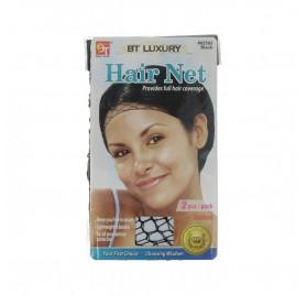 Beauty Town Luxury Cap Hair Unisex Black 2 Pieces (02593)