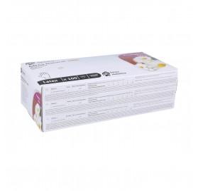 Guantes Latex Gn03 Medium-M White 100U (With Little Bit Powder)
