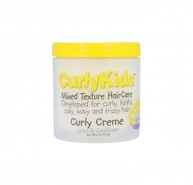 Curly Kids Mixed Texture HairCare Curly Cream Leave-In Conditioner 170G/6Oz