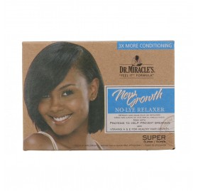 Dr.Miracle'S Growth No Lye Relaxer 1/App Super