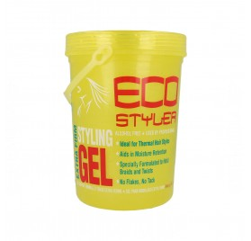 Eco Styler Styling Gel Colored Hair Jaune 2.27Kg