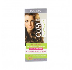Kativa Keep Curl Activator Leave In Crema 200 ml