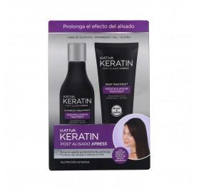 Kativa Keratin Post Straightening Xpress Kit (Shampoo+Treatment)