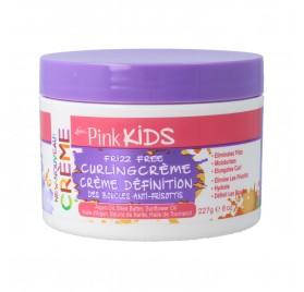 Luster Pink Kids Frizz Free Curling Creme 8Oz/227G