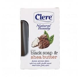 Clere Natural Beauty Jabón African Black & Shea Butter 150G (Nbc505)