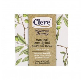 Clere Natural Beauty Jabón Artesano Aceite de Oliva 200G (Nbc506)