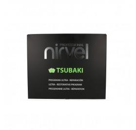 Nirvel Care Tsubaki Pack (Champú+Concentrado+Mascarilla+Sérum)