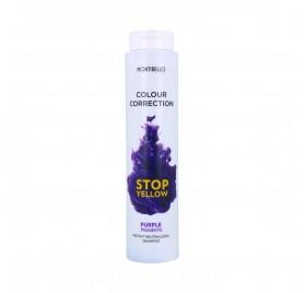 Montibello Colour Correction Stop Yellow Shampoo 300 ml (Neutralizer+Pigment Lilac)