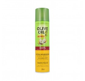 Ors Olive Oil Sheen Spray Con Aceite de Coco 240 ml
