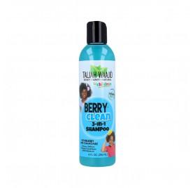 Taliah Waajid Kinky, Wavy & Naturals Children Berry Clean 3-In-1 Champú 236 ml/8Oz (Niños)