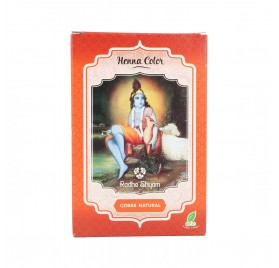 Radhe Shyam Henna En Polvo Cobre Natural 100G