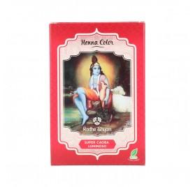 Radhe Shyam Henna Poudre Super Acajou Brillant 100G