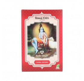 Radhe Shyam Henna Poudre Acajou Foncé 100G