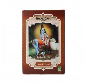Radhe Shyam Henna Poudre Châtain Clair 100G