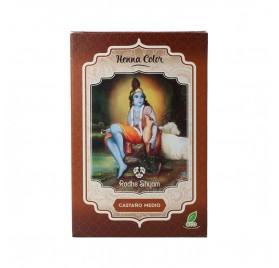 Radhe Shyam Henna Poudre Châtain Moyen 100G