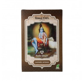 Radhe Shyam Henna Poudre Châtain Intense 100G