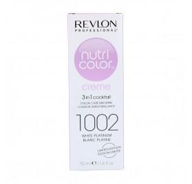 Revlon Nutri Color 1002/Plat Blanco 50Ml