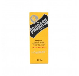 Proraso Beard Oil Wood & Spice Aceite para la barba 30 ml.