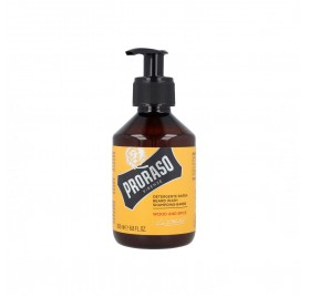Proraso Beard Wash Wood & Spice Champú para la barba 200 ml.