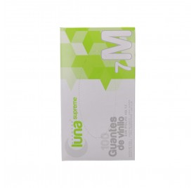Omare Luna Vinyl Gloves Powder Free Size M 100 units
