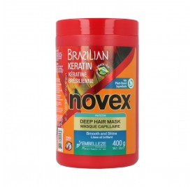 Novex Brazilian Keratin Masque Capillaire 400 ml