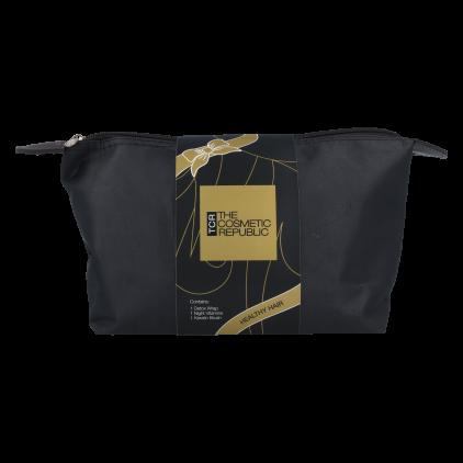 The Cosmetic Republic Pack Healthy Hair (Detox Wrap/Brush/Vitamins)