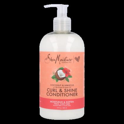 Shea Moisture Coconut & Hibiscus Curl Conditioner 384 Ml