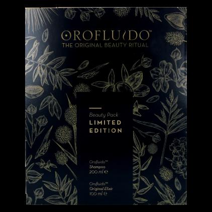 Revlon Oro Fluido Beauty Pack (Shampoo+Elixir) L.E