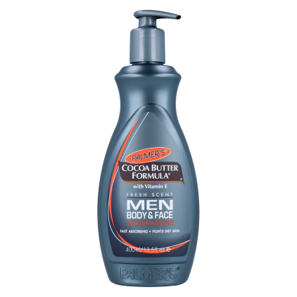 Palmers Cocoa Butter Formula Men Loción Pump 400 Ml /13.5  Oz (4565)