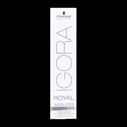 Schwarzkopf Igora Royal Absolutes 60ml, Color Sw Gris Platino (dove Grey)